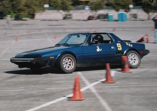Best Cars For Autocross >> Autocrossing A Fiat X1 9